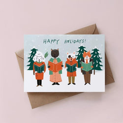 Hand illustrated Christmas cards