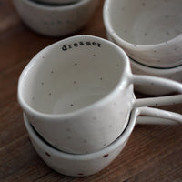 Handmade ceramic pinch cup - Marqt.no