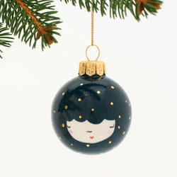 Handmade Christmas ceramic ornaments