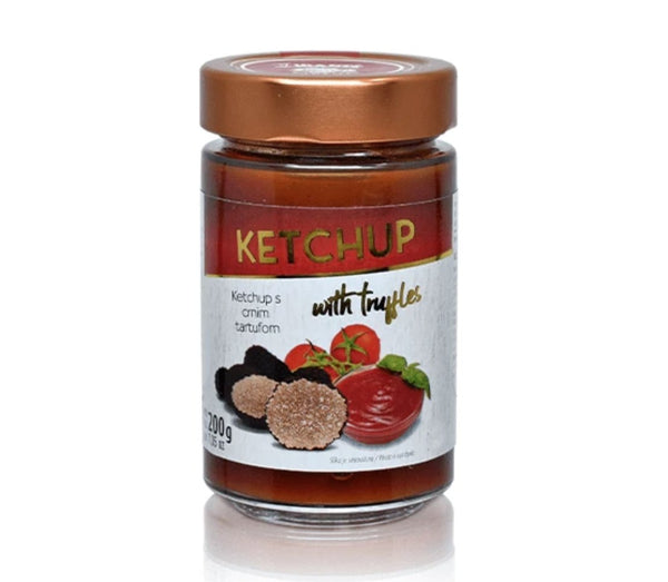 Ketchup with black truffles - Marqt.no
