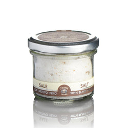 Sea salt with black truffles