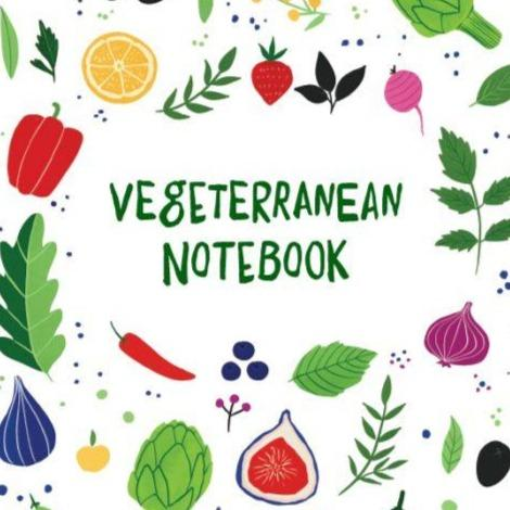 "Vegetarian recipe notebook ""Vegeterranean"" - Marqt.no"