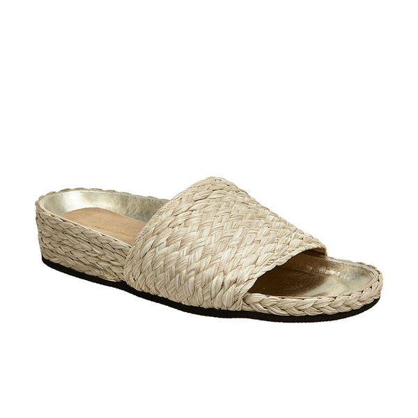 Raffia Slide Natural