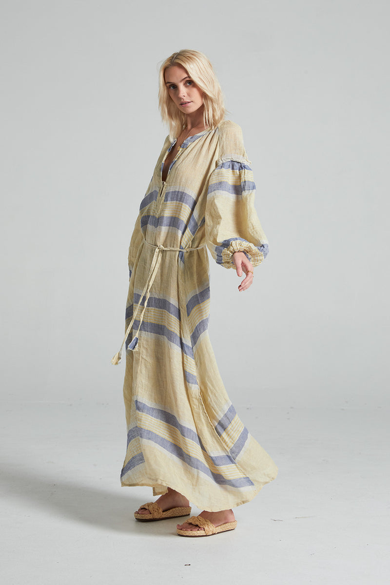 Ibiza Maxi Dress - Allegria Stripe
