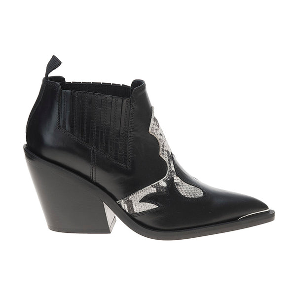 Cash Boot Black/Snake