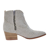 Linen Ranch Boot Natural