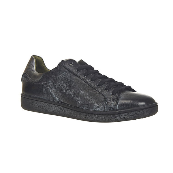 Steely Low Top Sneaker Black