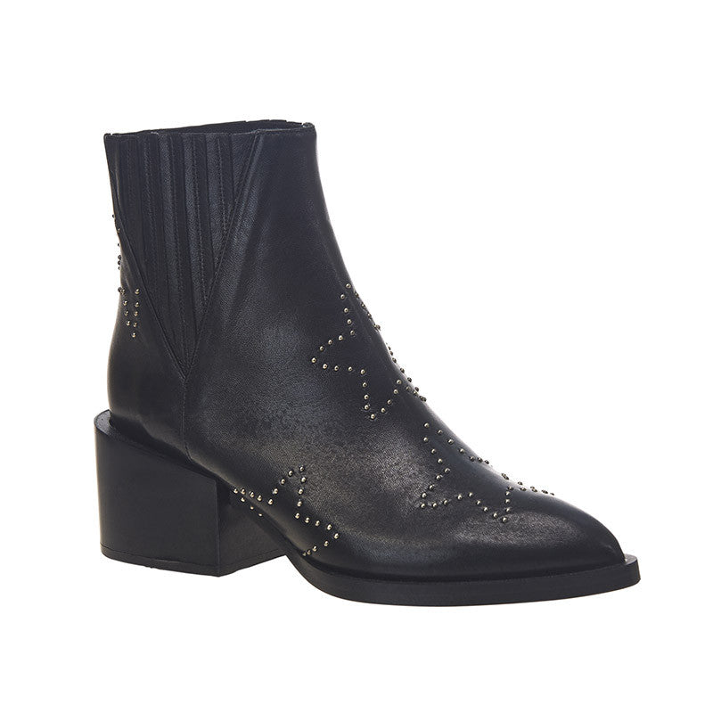 Starry Night Ankle Boot Black