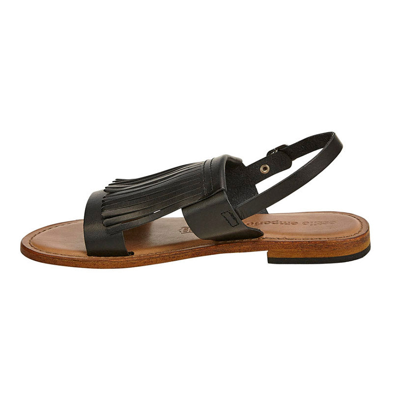 Oxford Sandal Black