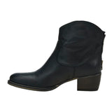 Love Zip Boot Black