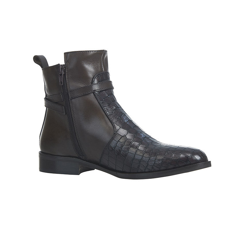 Croc Captain Ankle Boot Chocolate