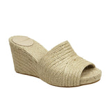 Woven Jute Low Wedge Natural