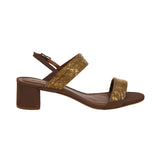 Brass Double Strand Low Heel Truffle
