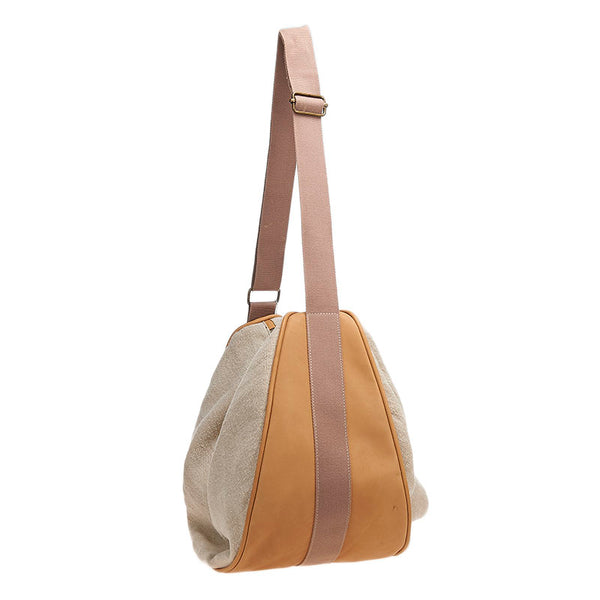Linen Slouch Bag Natural