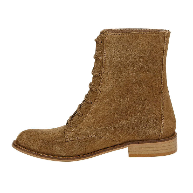 Suede Frida Boot Tan