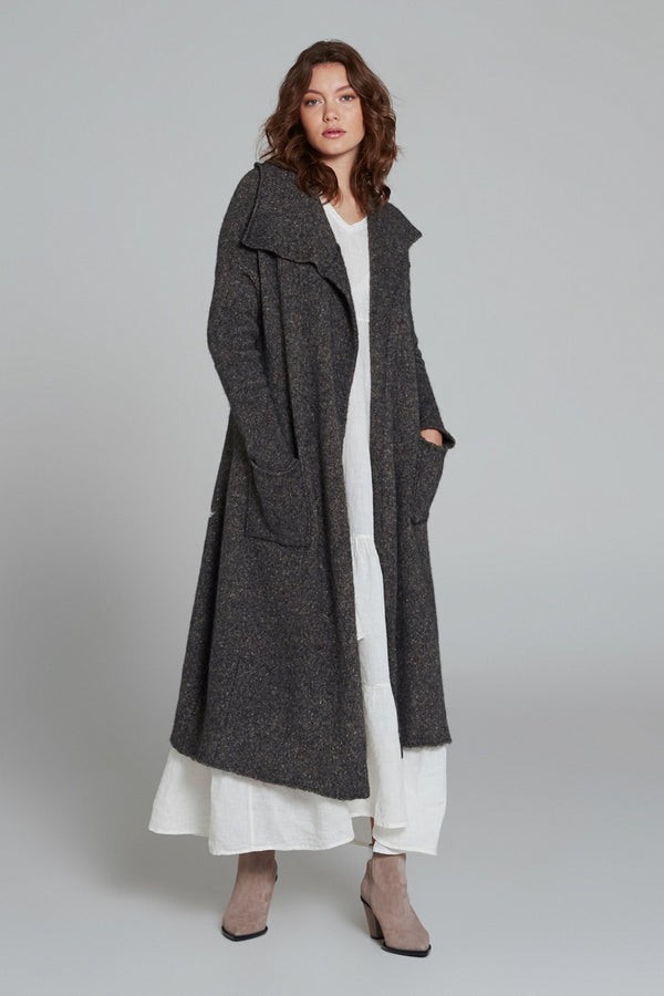Descendant Coat Charcoal