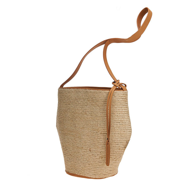 Woven Jute Tote Natural