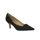 Tress Pump Black Suede