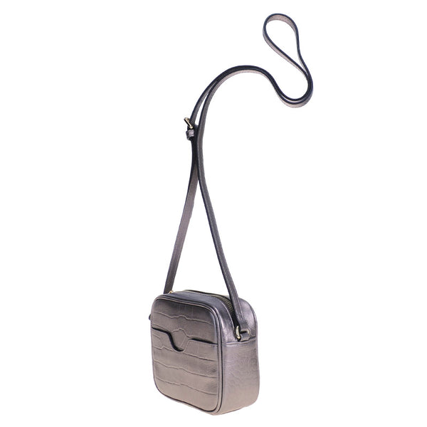 Box Mini Bag Gunmetal
