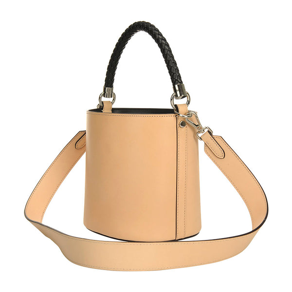 Bustle Bucket Bag Veg Tan