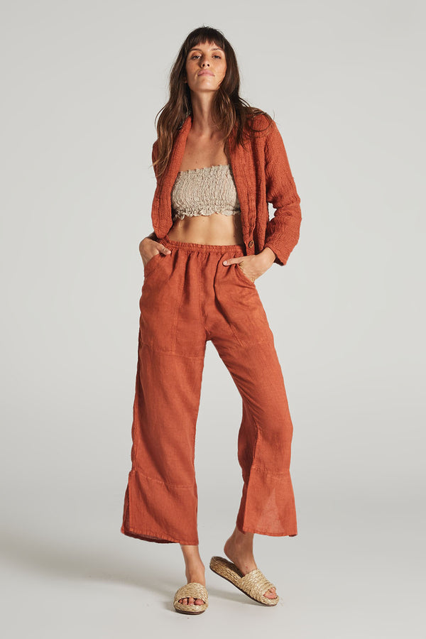 Lounge Pants Rust