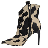 Rodeo Disco Boot Cow Print