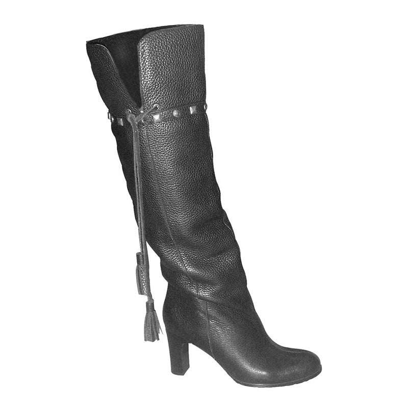 Bohemian Tassel Boot Black