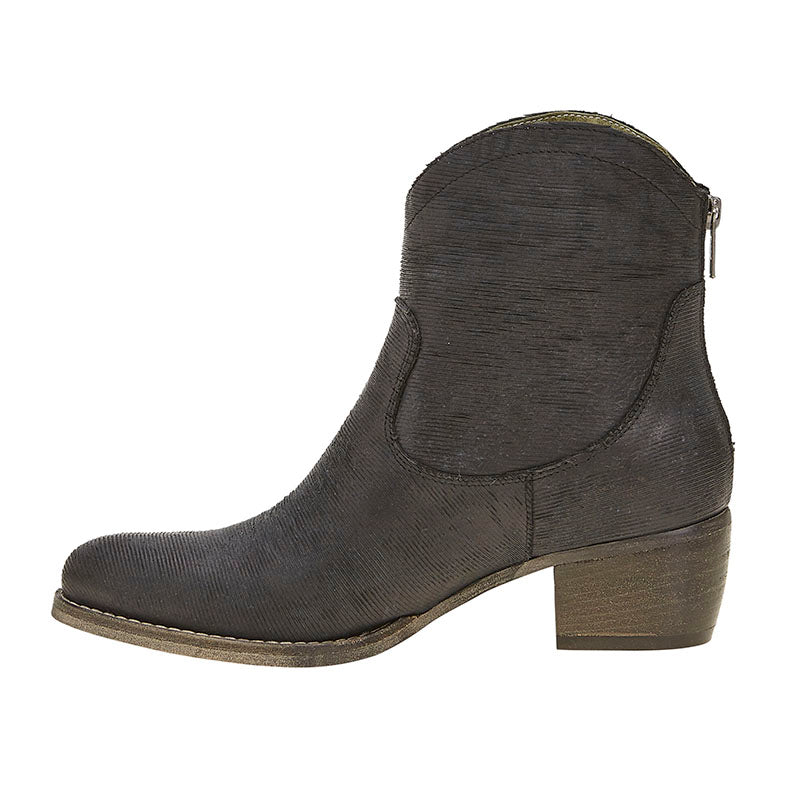 Slash Love Zip Boot Black