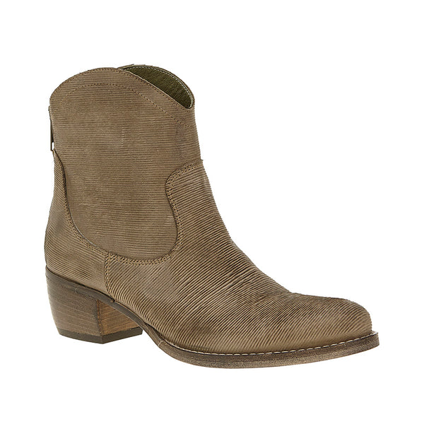 Slash Love Zip Boot Taupe