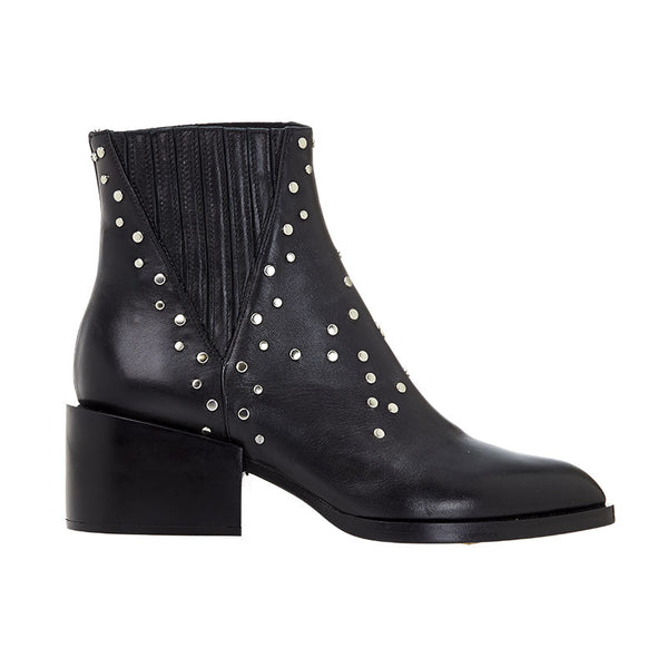 Star Studded Boot Black