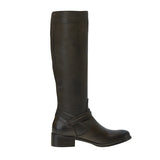 Captain Knee High Boot Chocolate
