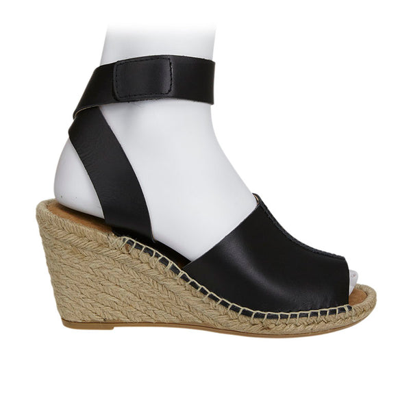 Stable Espadrille Wedge Black