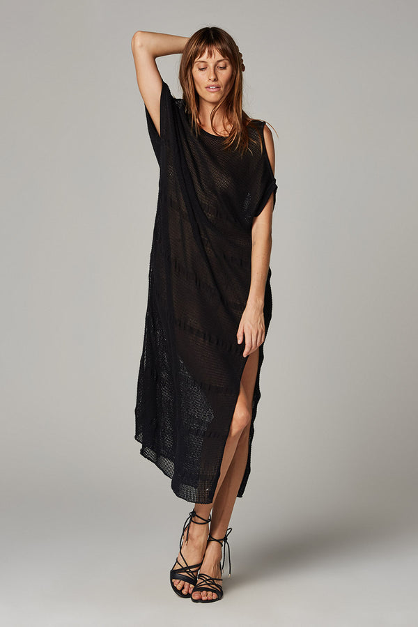 Bari Knit Dress - Kiri Black
