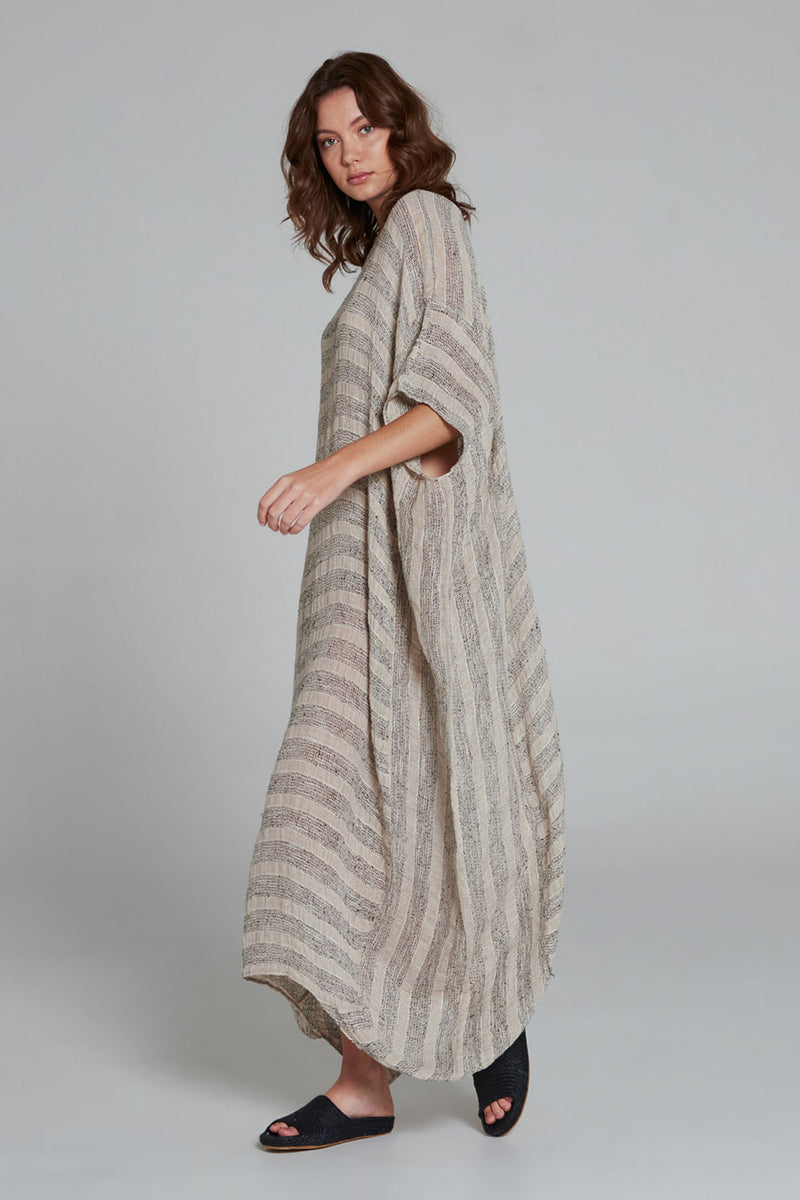 Bomba Dress Pompei Stripe