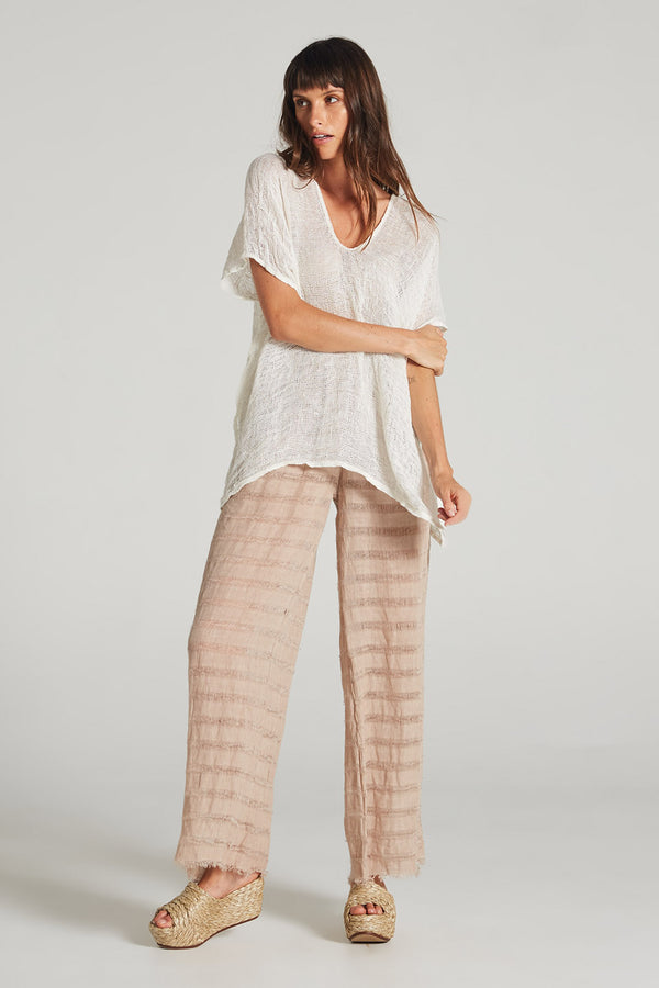 Raw Faro Pant Rose Stripe