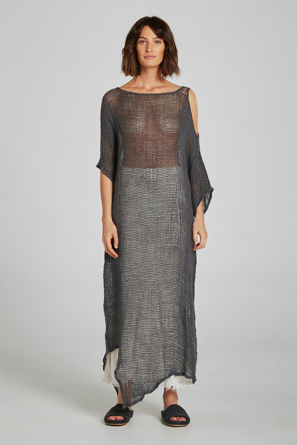 Maxi Adrift Dress Pescatore Anthracite