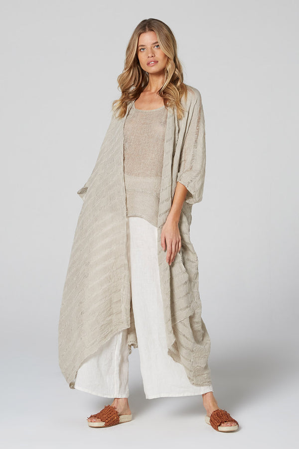 Gypsy Coat Natural Stripe