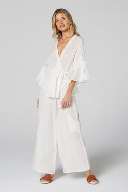 Harlowe Top Panna White