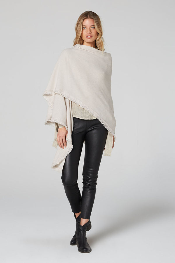 Isabelle Wool Cashmere Wrap