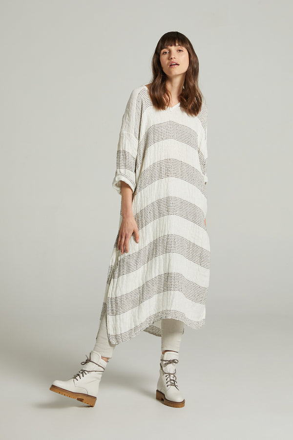 Diverge Dress - Cestinato White