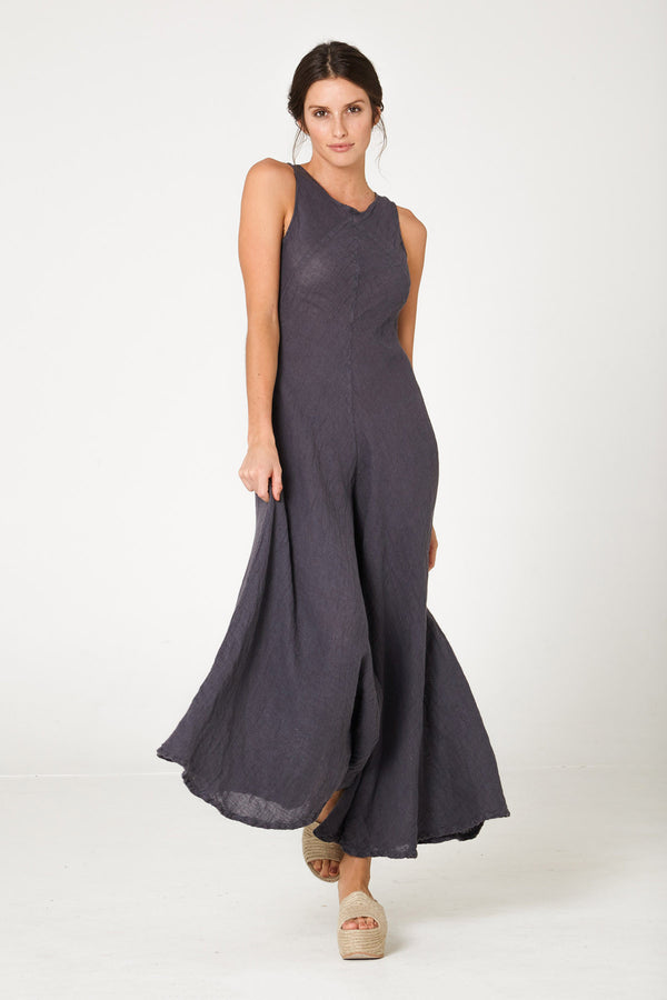 Edie Jumpsuit Anthracite