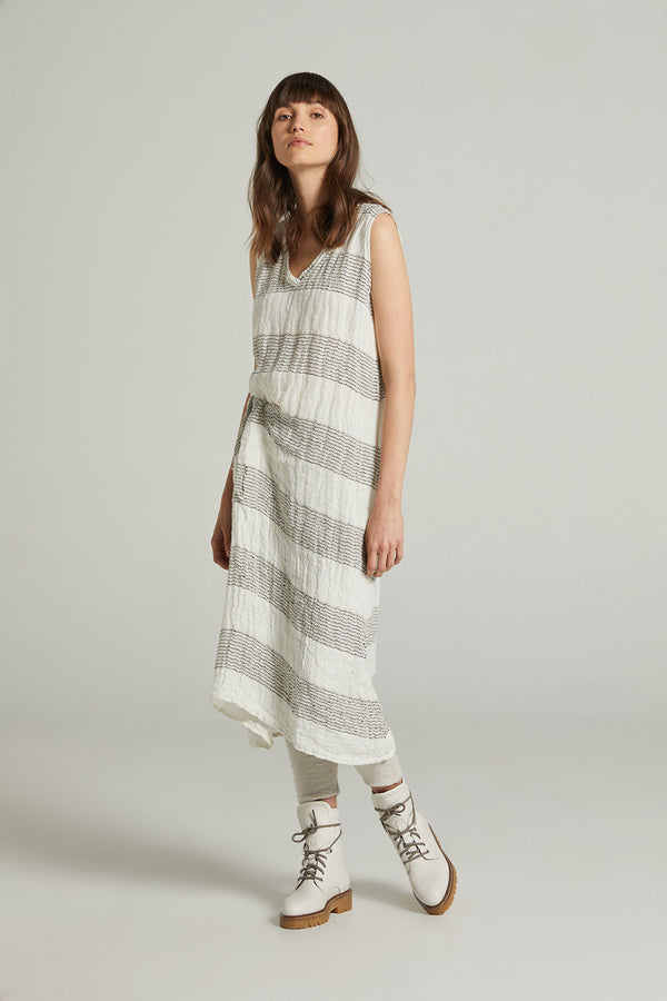 Hampton Dress - Cestinato White