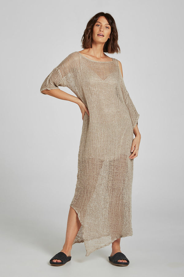 Maxi Adrift Dress Pescatore Natural