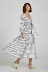 Mallorca Dress Mare Stripe