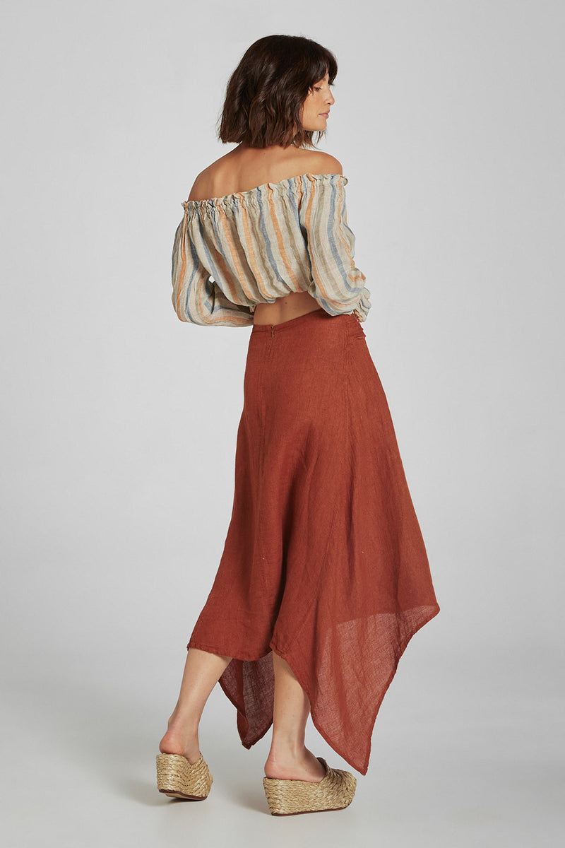 Kindred Skirt Brasile Terracotta