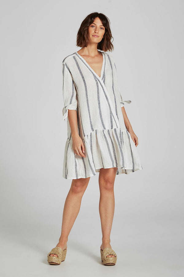 Lila Dress Atlantic Stripe