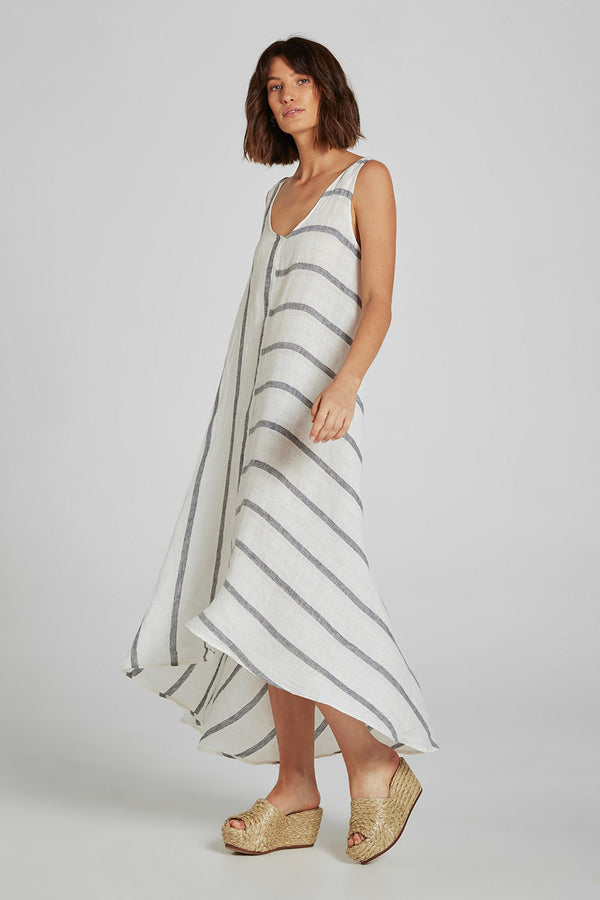 Intero Dress Atlantic Stripe