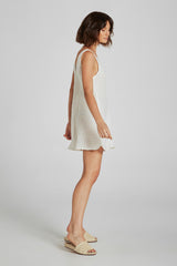 Vietri Mini Dress Panna White