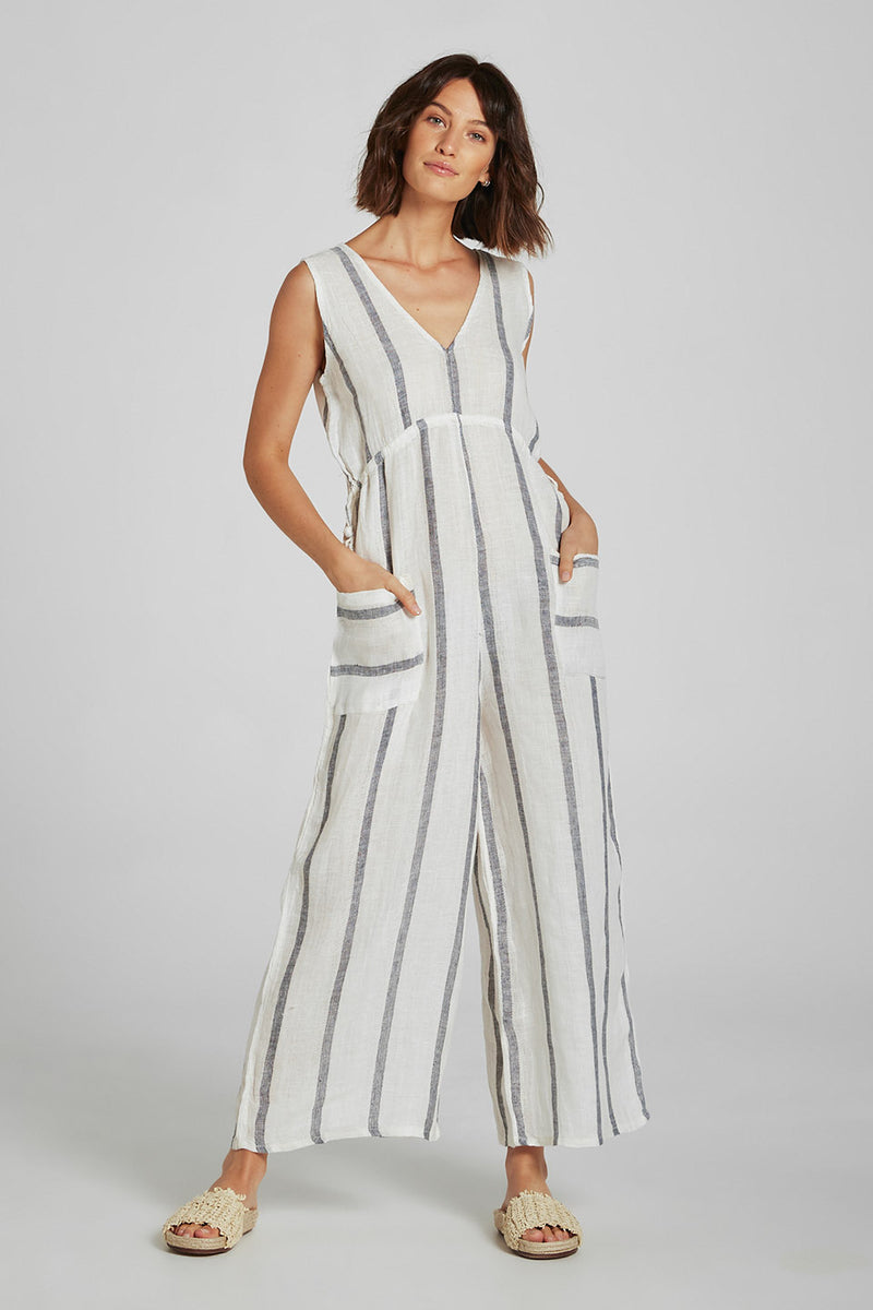 Jet Jumpsuit Atlantic Stripe