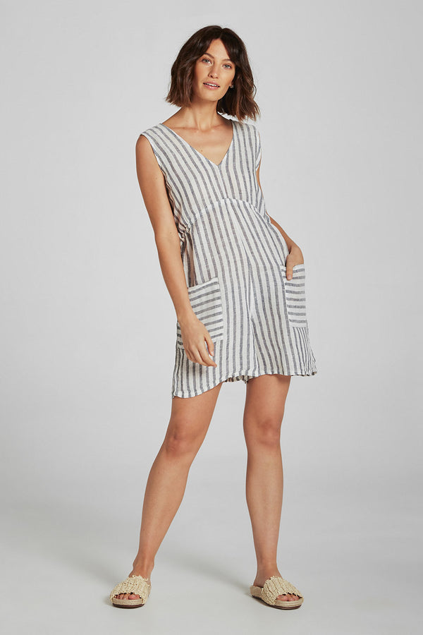 Jet Playsuit Cardetto Stripe